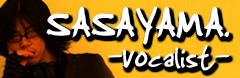 vocalist sasayama. web